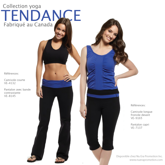 collection tendance yoga